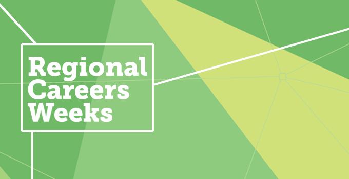 Regional Careers Weeks banner