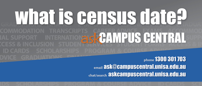 What is census date? Ask Campus Central